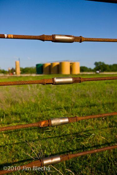Sucker Rod Cattle Barn Future Farms Front Fence