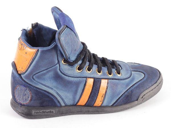 Rondinella basketter 9958-1  blauw (maat 30-40)