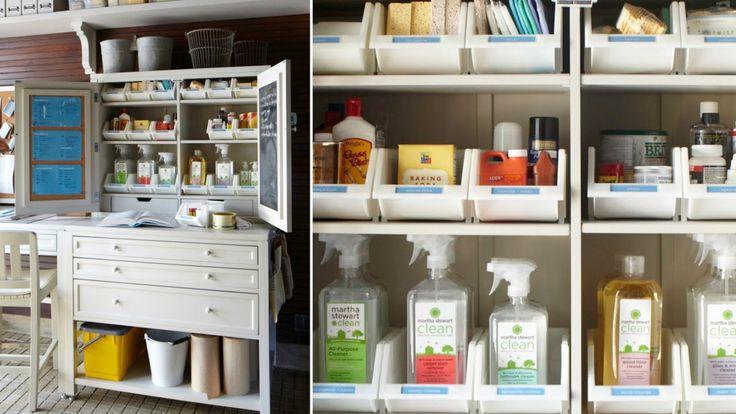 17 best images about storage area organization on for Martha stewart garage organization