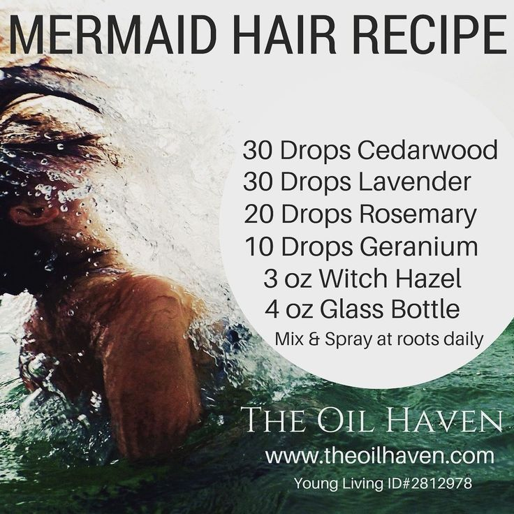Best Kept Secret out there! Grow strong, healthy hair, faster than ever before! Mermaid Hair Recipe. Purchase Essential Oils at The Oil Haven.