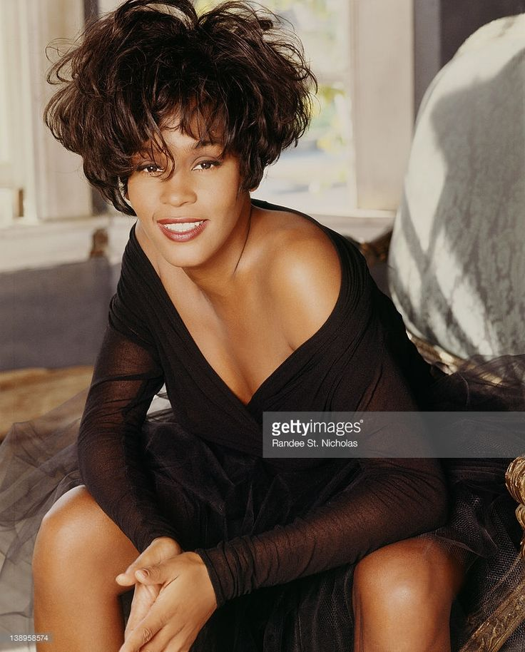 News Photo : Singer/songwriter Whitney Houston is photographed...