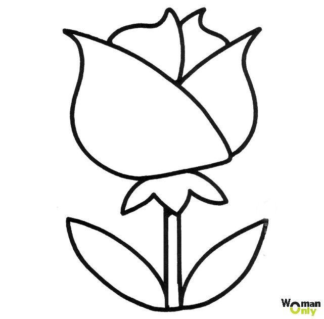 Dibujos De Flores Para Colorear E Imprimir Gratis Dibujos De Flores Dibujos De Flores Sencillos Flores Dibujadas A Lapiz
