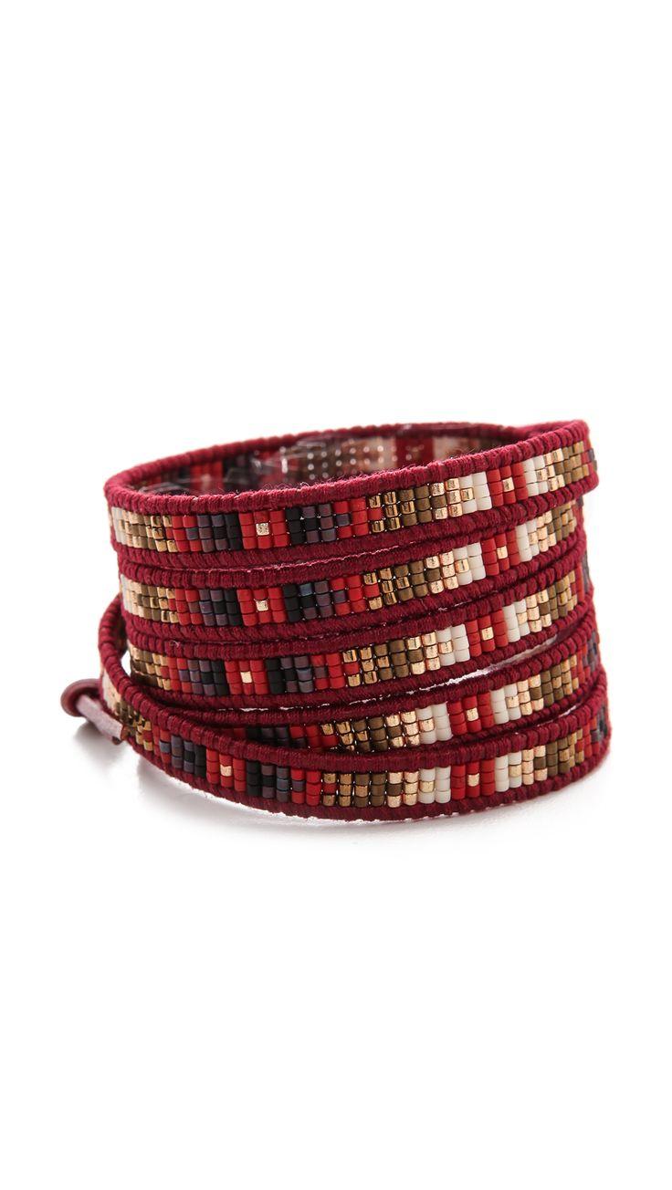 Chan Luu Semi Precious Stone Wrap Bracelet | SHOPBOP