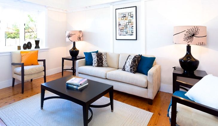 A cosy home in Haberfield Sydney, Australia styled by Instant Interiors. #instantinteriors #propertystyling #sydney