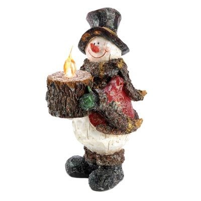 Light-Up Frosted Snowman $16.95