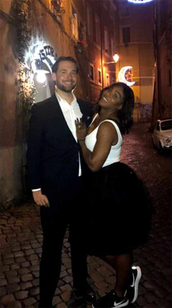 Serena Williams ties the knot with her 2 months old daughter's father,now becomes Mrs.Ohanian