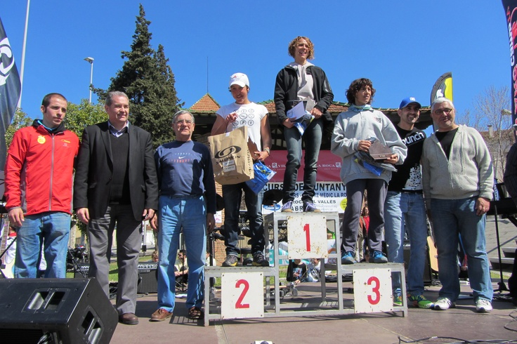 Camí dels ibers podio femenino