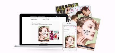 Flip through the Avon brochure & shop your favorites right from your computer or phone! #AvonRep