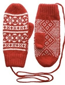 Just about everyone had mittens on a string which were passed through both of your coat sleeves.