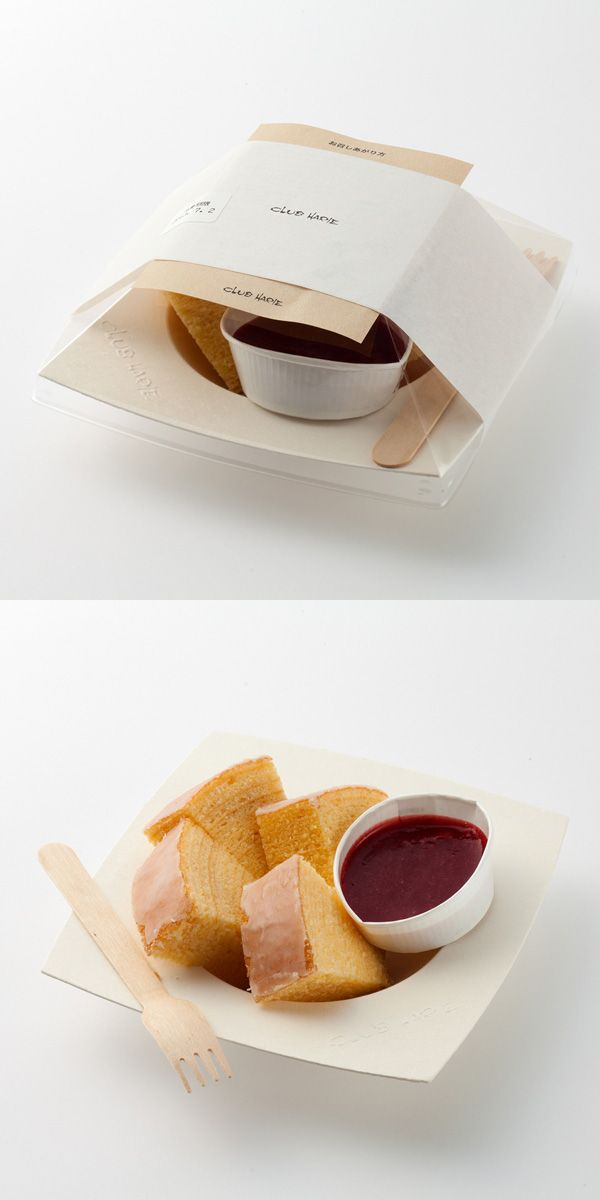 "CLUB HARIE B-studio「デセールバーム ベリー」Lovely ""eats"" #packaging PD"