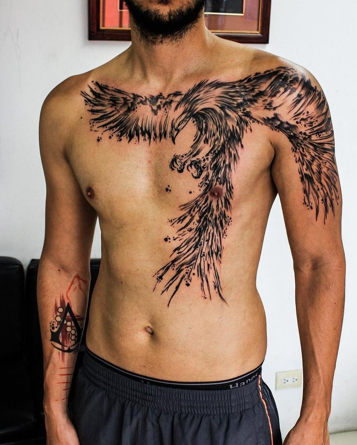 Tattoo Trends Awesome Phoenix Tattoo By Wesly Fernandez
