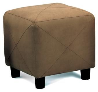 Brown Microfiber Cube Ottoman Footstool by Coasterhttp://www.cccstores.com/brown-microfiber-ottoman-footstool-coaster-500954.html#Brown #Microfiber #Cube #Ottoman #Footstool #Coaster #Furniture