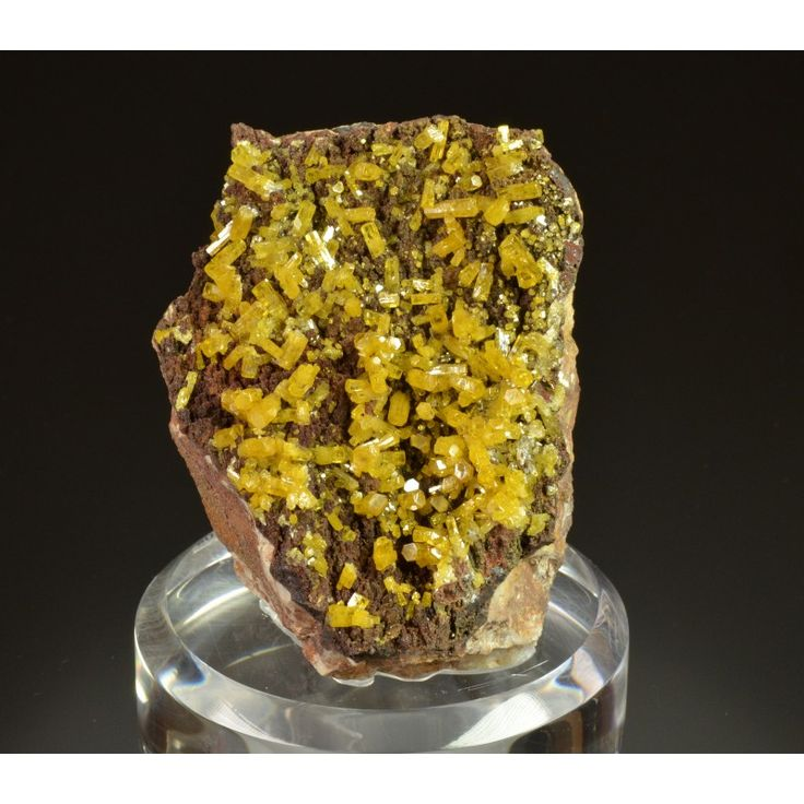 Mimetite from Hat Yai , Songkhla Province, Thailand