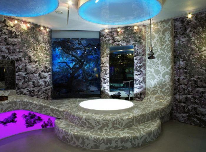 Badezimmer design mosaik  badezimmer mit mosaik gestalten: 48 ideen - archzine.net. chestha ...