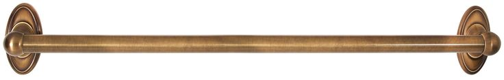 "Classic Traditional 24"" Grab Bar with Brass Construction"