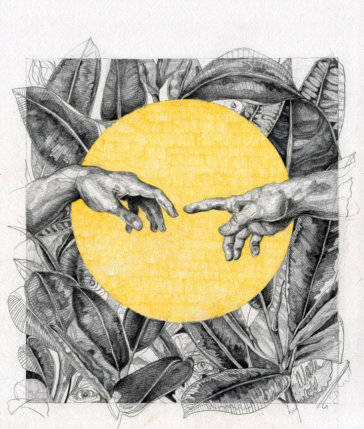 cover illustration for ZNAK magazine, by AROBAL, 2014