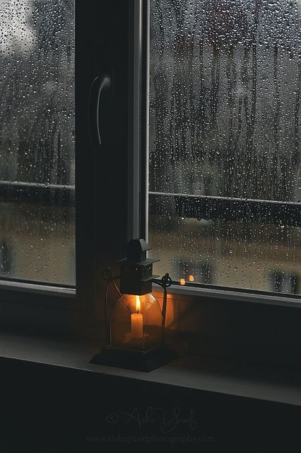 Rainy Day Lantern, Canton Vaud, Switzerland