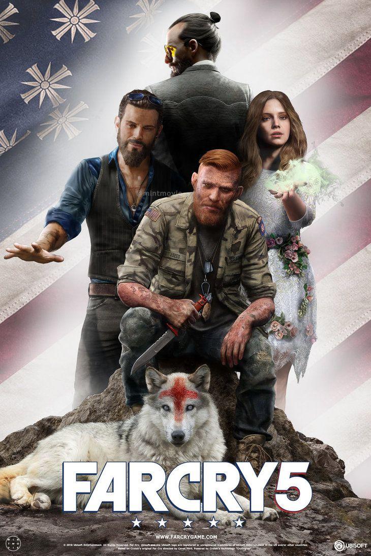 Znalezione Obrazy Dla Zapytania Far Cry 5 Poster Far Cry Game