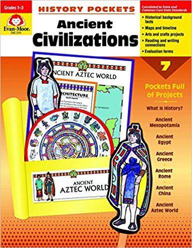 Amazon com: History Pockets: Ancient Civilizations, Grades 1-3