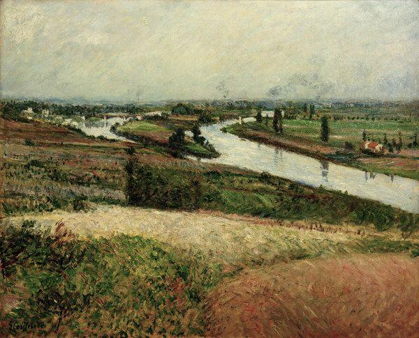 Gustave Caillebotte-Seine ? la pointe Epinay