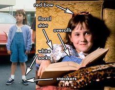 Matilda Costume ideas - omg this brings back good memories!