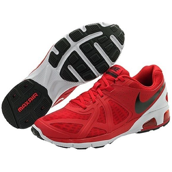 Red Nike trainers w/ free $15 bonus gift Great condition red and black Nike  trainers for boys size 6. Comes with surprise bonus gift Nike  Shoes Athletic Shoes