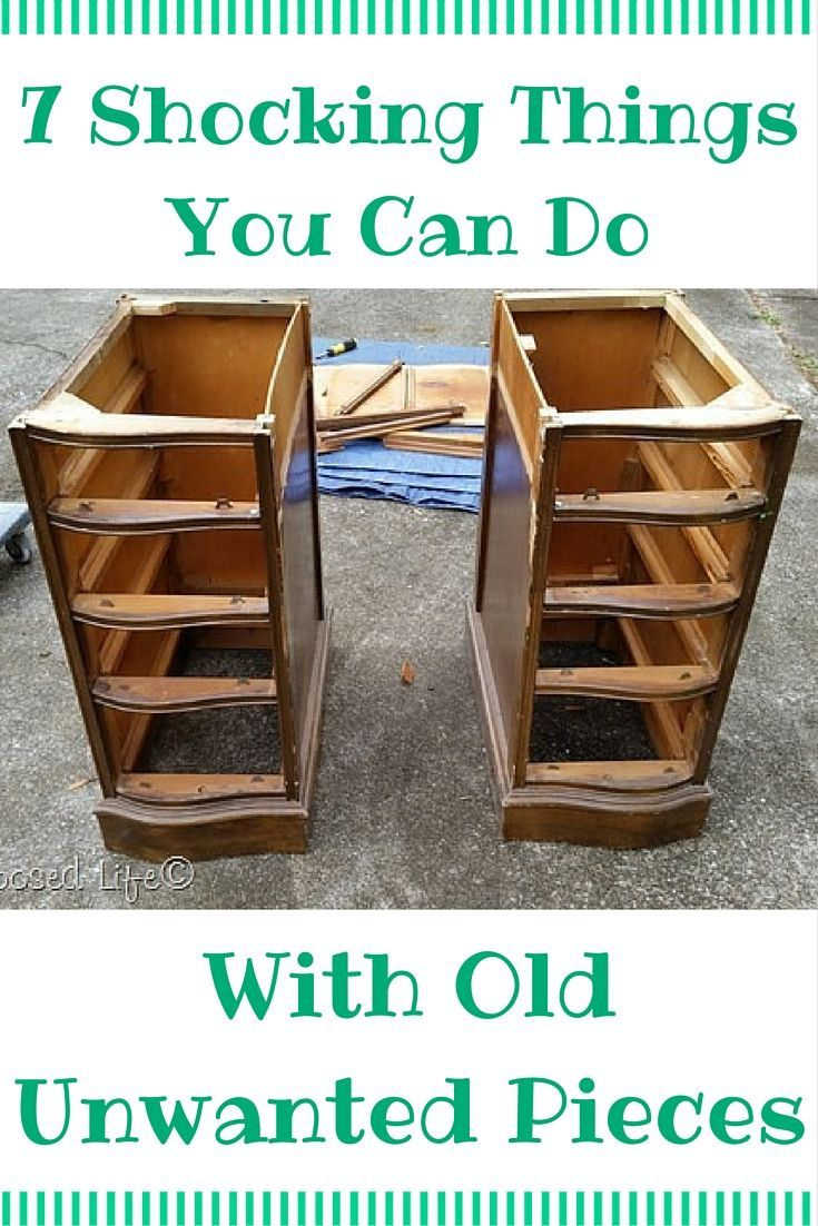11 Shocking Things You Can Do With Old Unwanted Pieces
