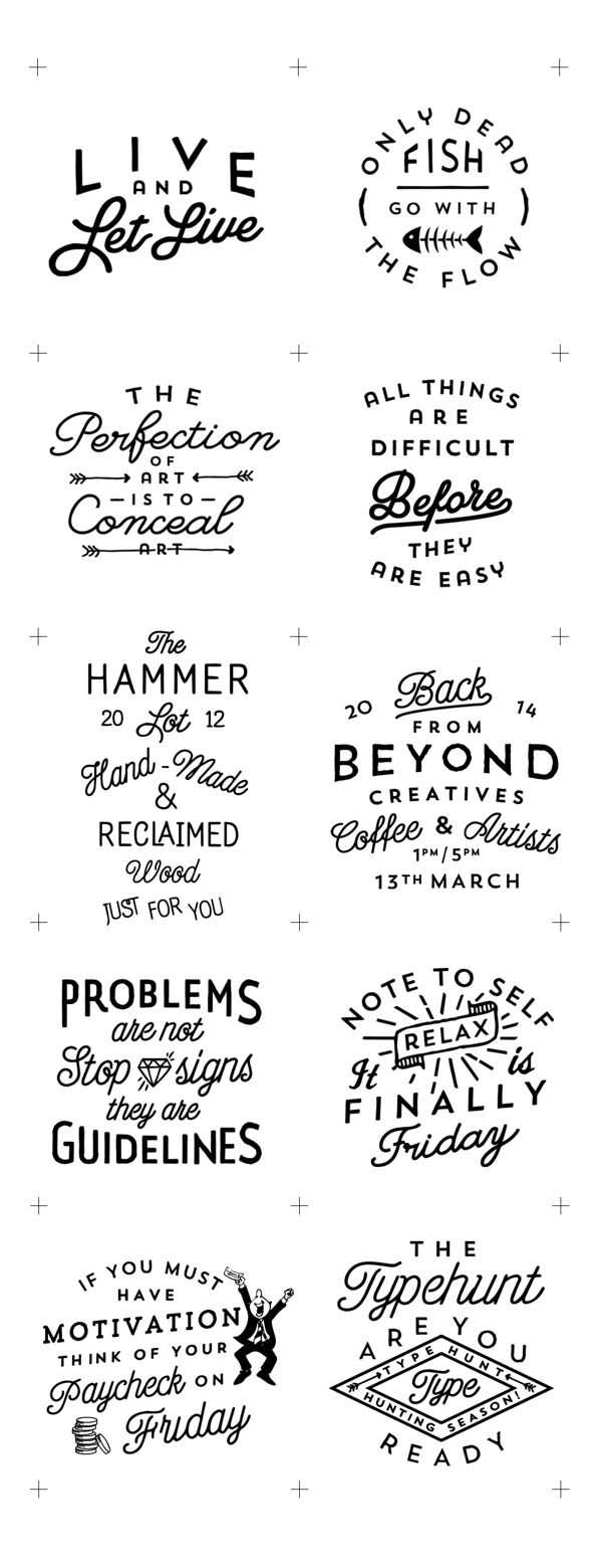 2013/14 LOGOS by Jorgen Grotdal, via Behance