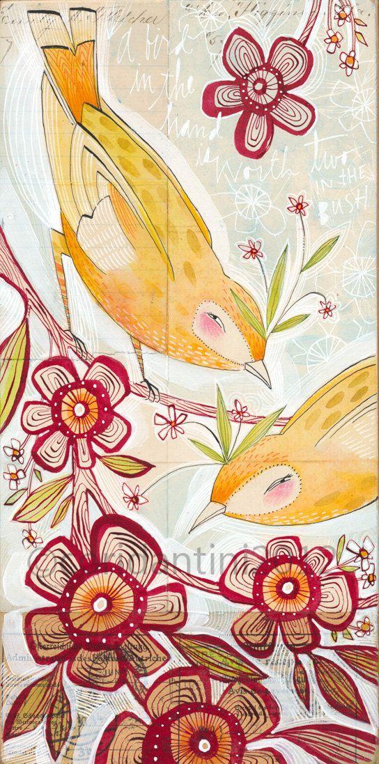 22 best flowers images on pinterest botanical art for Kati vaughn tattoo