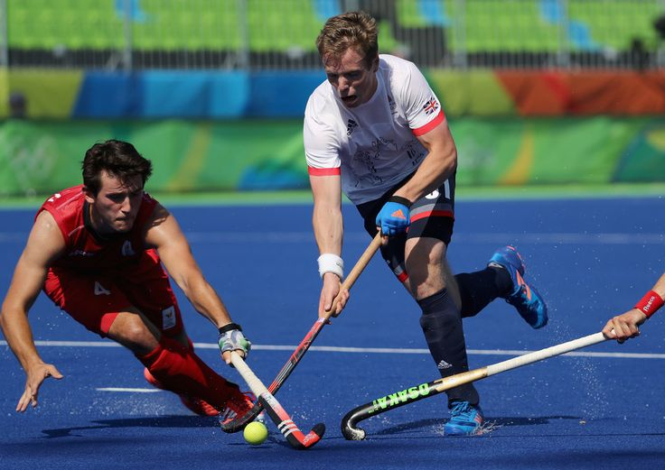 DAY 1:  Field Hockey - Great Britain vs Belgium