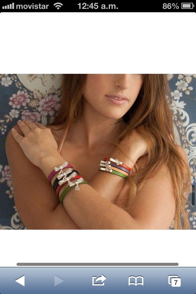 """Brazaletes """"Sublime Amor"""" www.irdia.net"""