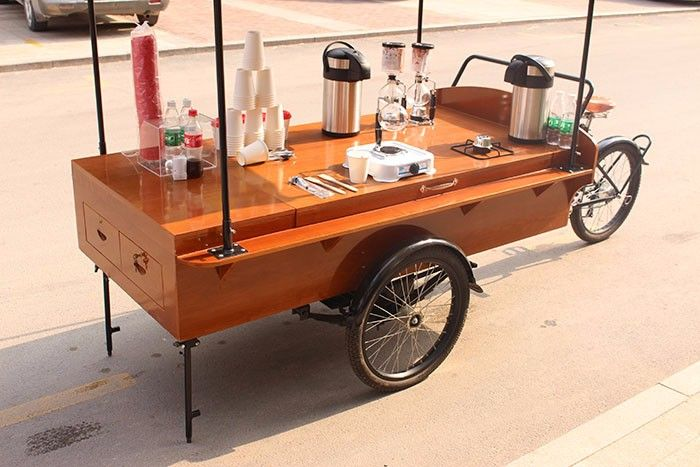 street food kiosk cart for sale