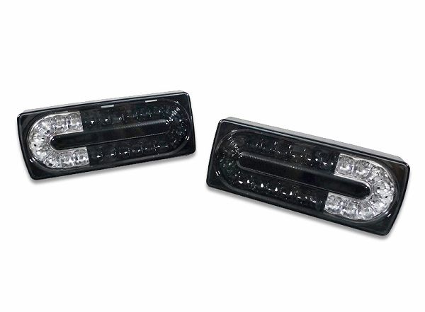 Facelift Style LED Black / Clear Taillights for W463 G-CLASS WAGON