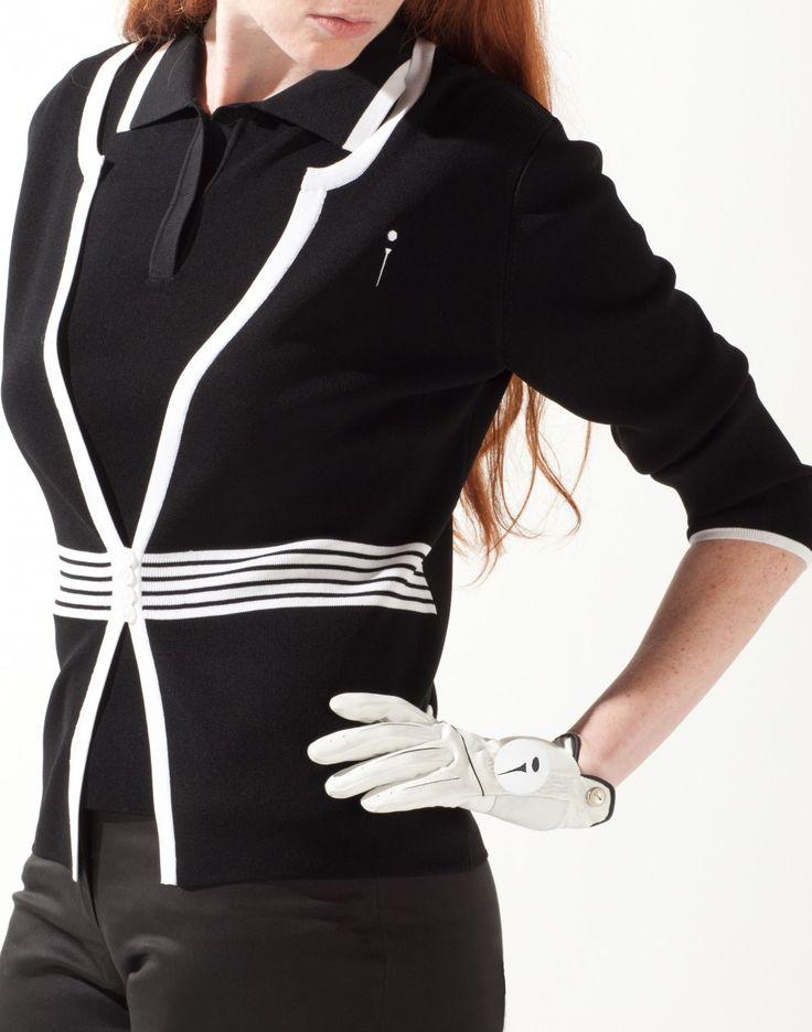 Me modeling for MicSport.com ~ women's golf wear
