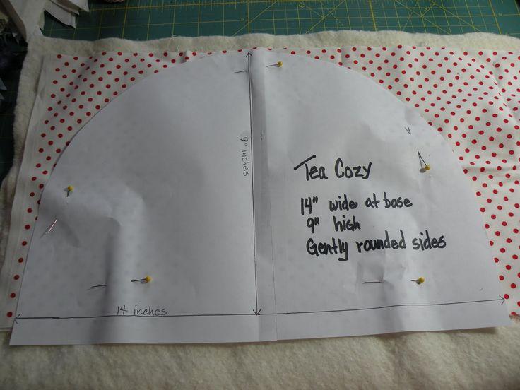 Tea Cosies Patterns | Sew we quilt: Tea Cozy For A Proper English Tea!