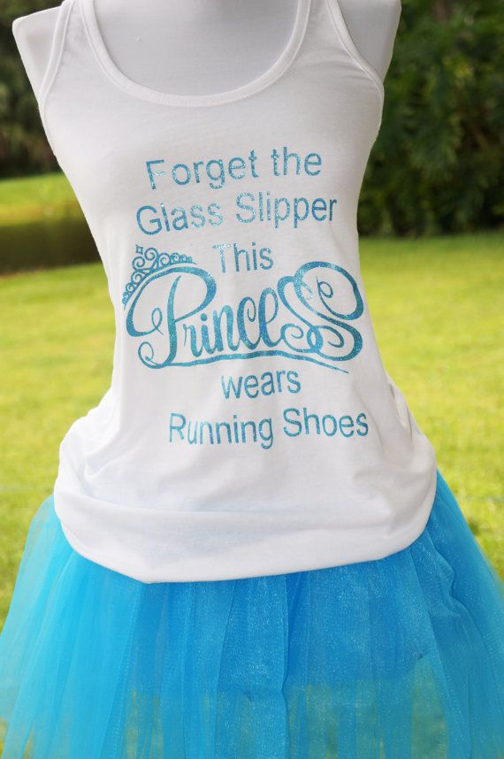 Forget the Glass Slipper This Princess Wears Running Shoes.  #Rundisney #Princessmarathon