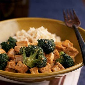 Broccoli-Tofu Stir-Fry, easy dish to get your Chinese fix. And good too!