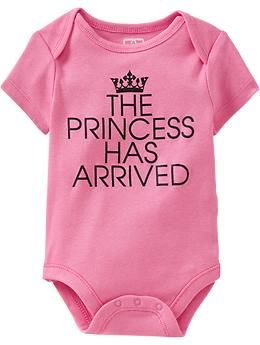 Graphic Cap-Sleeve Bodysuits for Baby