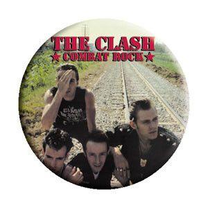 The Clash 'Combat Rock' Pin