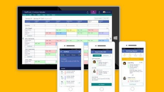 Microsoft launches StaffHub a new Office 365 app aimed at shift workers