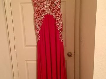 Items For Sale: Red Jovani Gown (Size 2) http://ift.tt/1T2736Z
