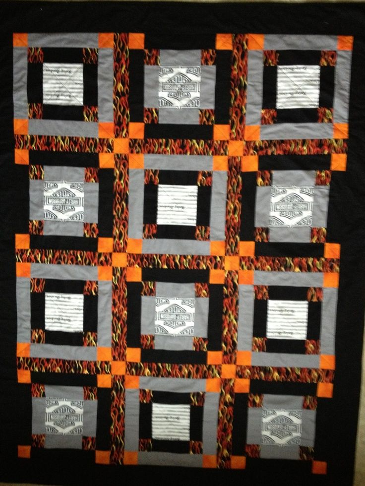 31 Best Harley Davidson Quilts Images On Pinterest Shirt