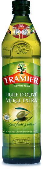 Huile d'olive Vierge Extra en bouteille de 75 cl - Tramier