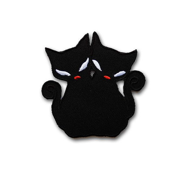 Black and white dress up cat magnets