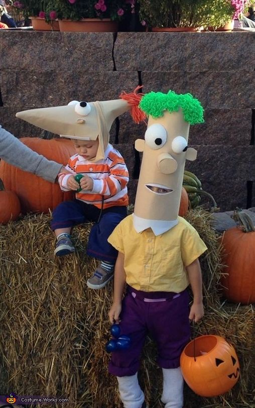 phineas and ferb costume - Phineas Halloween Costume