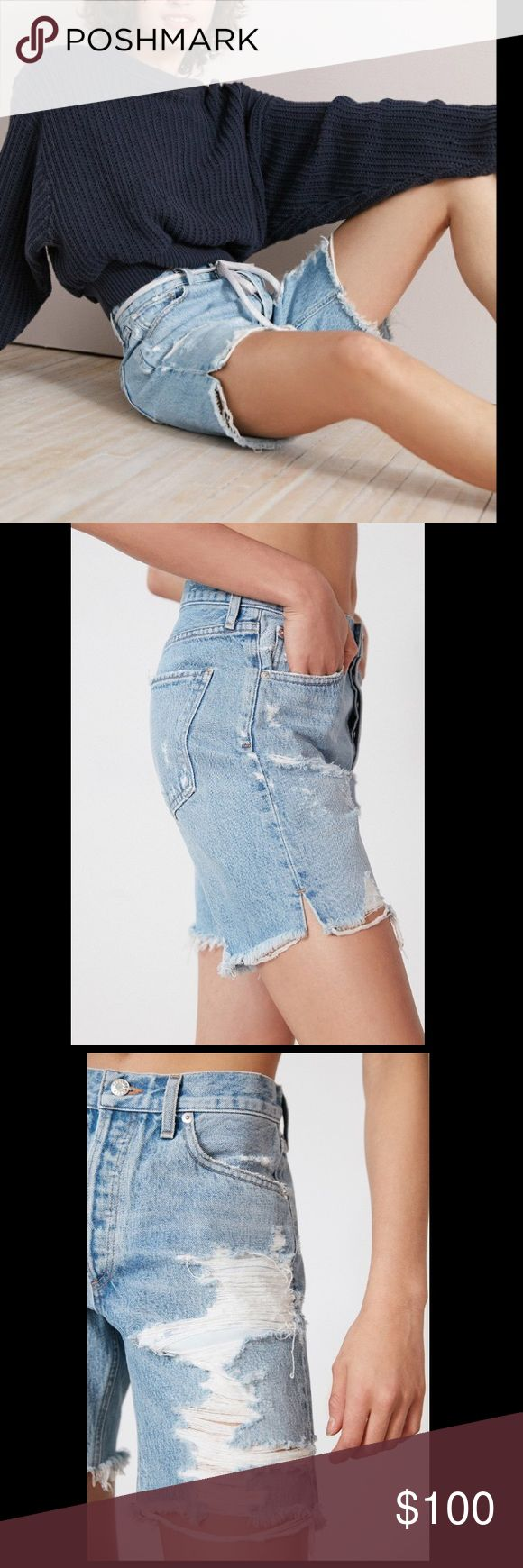 🆕Urban Outfitters Distressed Jeans Shorts Urban Outfitters Distressed Jeans Shorts size 32 in perfect condition never been worn. Item true to photo. Urban Outfitters Shorts Jean Shorts