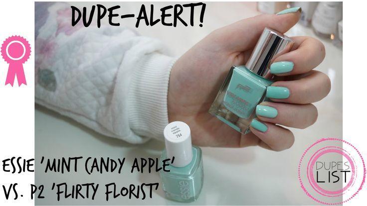 Drogerie Dupes: essie 'mint candy apple' Drogerie-Dupe – Dupe-Alert! essie dupes, makeup dupes, nail polish dupes, drugstore dupes – http://solar-toptrendspint.blackjumpsuitoutfit.tk/
