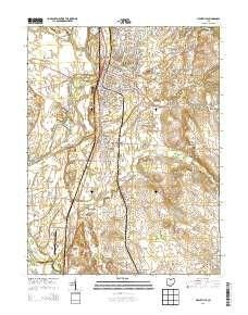 ~ Circleville OH topo map, 1:24000 scale, 7.5 X 7.5 Minute, Historical, 2013