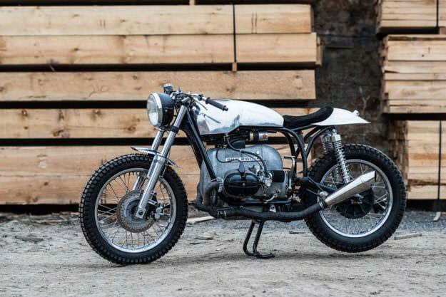 Under The Radar: Tim Harney's minimalist BMW cafe racer | Bike EXIF