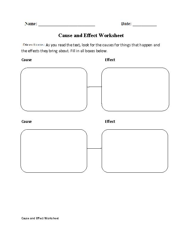 cause and effect organizational patterns worksheet. Black Bedroom Furniture Sets. Home Design Ideas